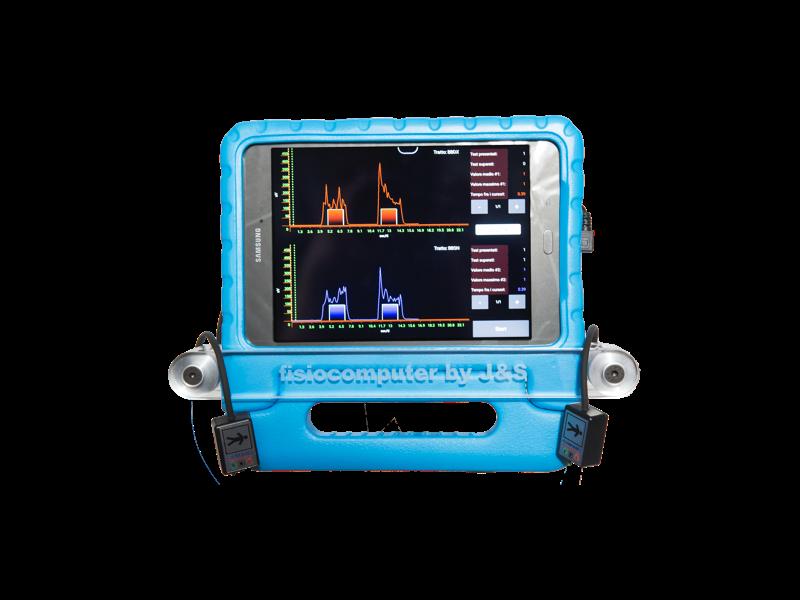 Fisiocomputer BFB4 - Biofeedback Elettomiografico a Due Canali - Schermata - Made to Last - Elettromedicali per Fisioterapia