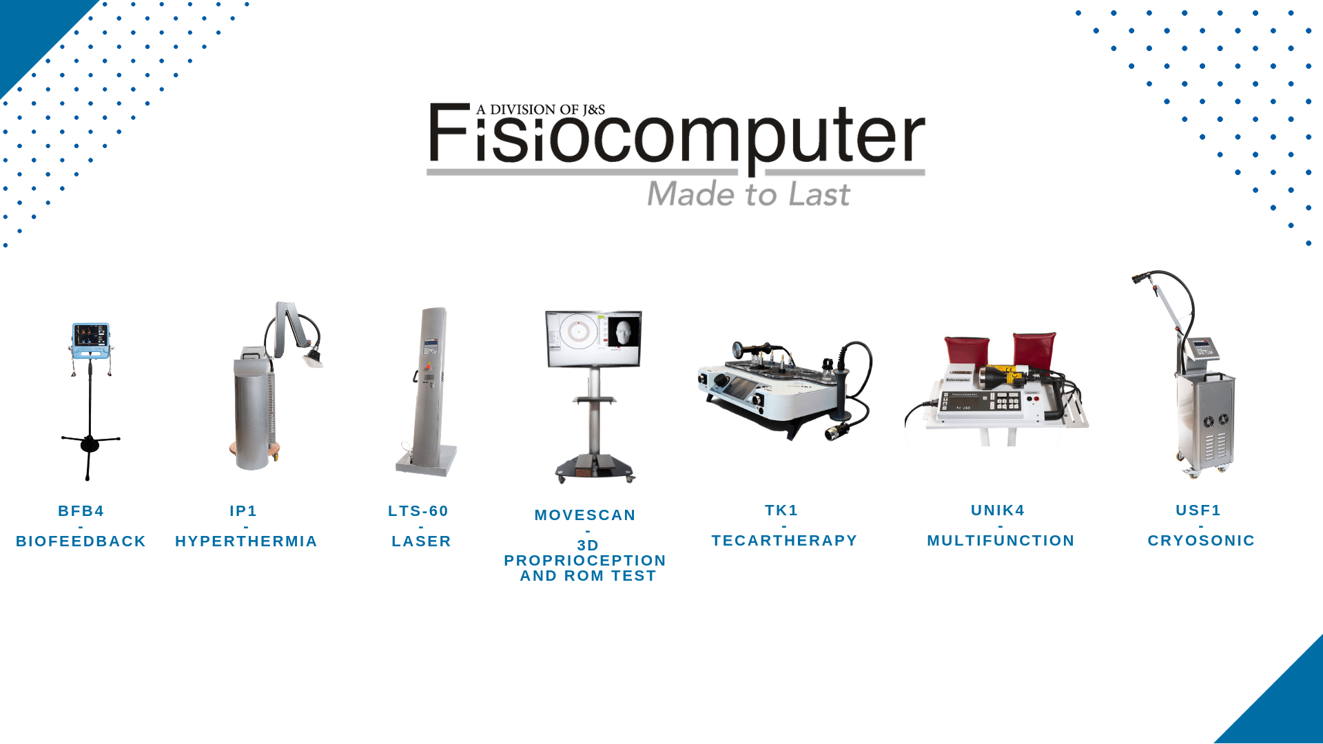 Fisiocomputer - Made to Last - Banner Prodotti